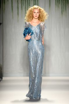 TRESemme at Jenny Packham Mercedes-Benz Fashion Week Spring 2014 - Runway