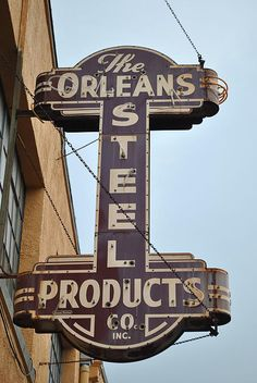 The Orleans Steel Products Co, ~ New Orleans, Louisiana.