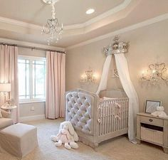 15 Cutest Baby Girl Nursery Room Ideas (pink & girly) Every mother dreams about decorating her baby girls' nursery. When you think of a baby girl nursery room most people think pink and girly. Today, that's exactly what I'm going to give you. Baby Bedroom, Baby Room Decor, Girls Bedroom, Bedrooms, Baby Girl Bedroom Ideas, Baby Gurl Nursery, Baby Rooms, Baby Room Ideas For Girls, Baby Girl Nurseries