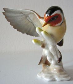 Vogel Porzellan Hutschenreuther Gunther Granget Figur 80er