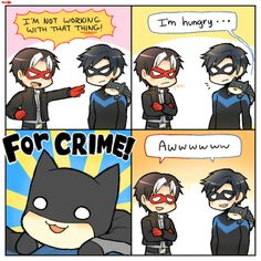 I don't even know what this is but someone made batman adorable