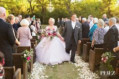 John and Stacie's beautiful outdoor wedding ceremony at The Venue at Waterstone