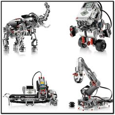 You can download the instructions for the robots in the