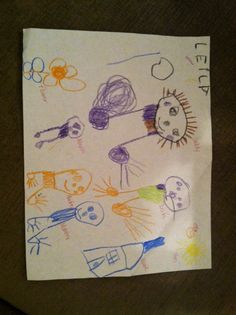 Made by Leila, 4 years old, Artist Of The Day on 01/07/2015 • Art My Kid Made