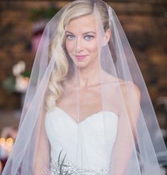"""Bridal """" Lucille"""" Veil as seen on Green Wedding Shoes on Etsy, $93.27 AUD"""