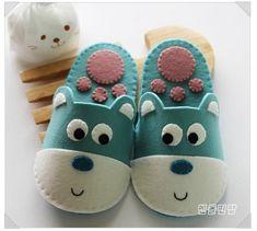Como Hacer Zapatillas para Niños con Moldes01                                                                                                                                                                                 Más