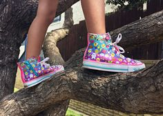 All her favorite emojis on her favorite Twinkle Toes style. http://spr.ly/6006BYX4r