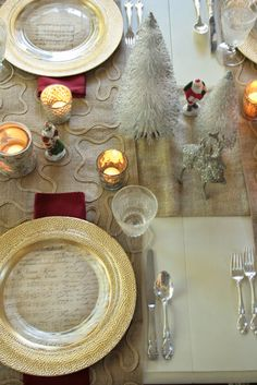 ciao! newport beach: a Christmas table inspired by music