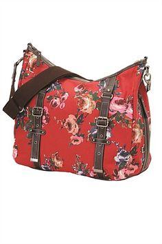 OiOi Vintage Rose Hobo nappy bag