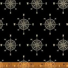 Sarah jane for michael miller fabrics out to sea nautical map windham world map 40028 1 old country store fabrics gumiabroncs Gallery