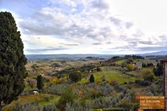 The Beautiful Countryside of San Gimignano Italy