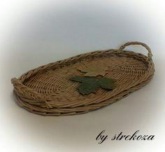 Фотографии Стрекоза. Плетеные изделия из бумажной лозы.