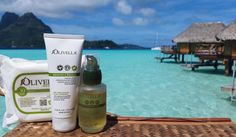 These basic beauty/skin essentials are needed for your next getaway.  #cleansingwipes #moisturizingoil #handcream #naturalbeautyproducts #olivellaskincare #travelbuddies #skincareroutine