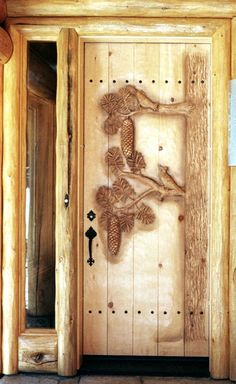 Incredible Hand Carved Doors -