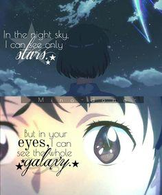 Anime: Kimi no Na wa Kimi No Na Wa, Sad Anime, Anime Life, Manga Anime, Anime Qoutes, Manga Quotes, Noragami, Your Name Quotes, Mitsuha And Taki