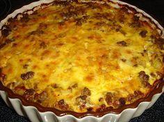 Sloppy Joe Pie from Food.com: South Beach Diet Phase 1,2 & 3