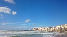 Enjoy the beautiful sea view from the small medieval town of Cefalù. www.incefaluapartments.it
