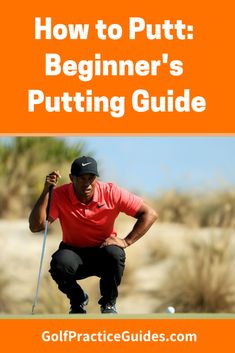How to putt. Beginner's short game guide on putting tips and drills Putt Putt Golf, Golf Tips Driving, Volleyball Tips, Golf Putting Tips, Golf Practice, Golf Chipping, Golf Videos, Golf Instruction, Golf Exercises