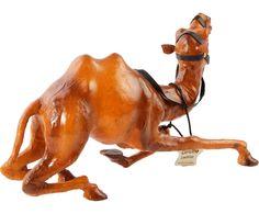 """Статуэтка """"Верблюд"""" - натуральняа кожа - В33   Westwing Интерьер & Дизайн Camel, Horses, Animals, Animales, Animaux, Camels, Animal, Animais, Horse"""