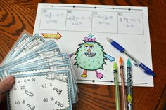 Solving One-Step Equations Activity Solving Linear Equations, Algebra Equations, Algebra 2, Algebra Activities, Teaching Math, Interactive Activities, Interactive Notebooks, Math Games, Teaching Ideas