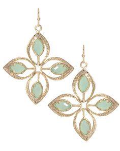 Kendra Scott Mary Haden Earrings in Chalcedon $75.00