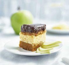 diabetes.hu • Almás krémes • Receptsarok – Különkiadás Cheesecake, Food, Cheesecakes, Essen, Meals, Yemek, Cherry Cheesecake Shooters, Eten