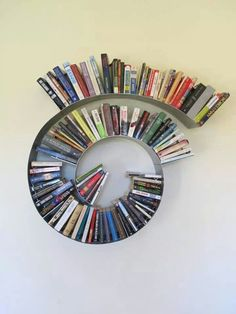 Spiral Bookshelf Medium By Briannakufa On Etsy