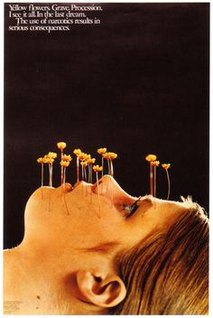 Vintage LSD Poster. This is supposed to make me *not* want to try it?