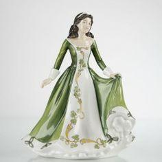 Fine Bone China Figurine - Celtic Lady, Ireland