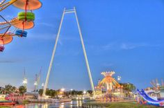 World's tallest SkyCoaster in Old Town Orlando. Florida Theme Parks, Orlando Theme Parks, Best Family Vacations, Dream Vacations, Old Town Orlando, Time Travel, Traveling By Yourself, Tours, World