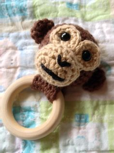 For an easy to read, ad-free PDF, buy this pattern for only $1.99! Or buy all 5 Jungle Animals Teething Rings for only $5.00. That's just $1.00 per pattern! Who's ready for another teething ring? I know I am! This is the second in the five teething rings you'll see in my Jungle Animals Teething … … Continue reading →