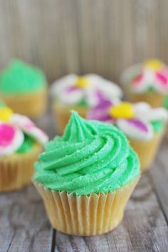 Pineapple Fairy Cupcakes by Fake Ginger Yummy Treats, Sweet Treats, Yummy Food, Fairy Cupcakes, How Sweet Eats, Cute Cakes, Let Them Eat Cake, Just Desserts, Love Food