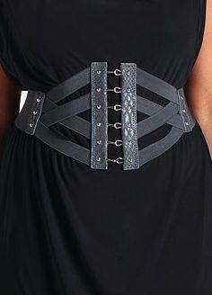 $19.50 Criss-Cross Corset Belt
