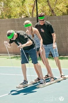 DONT FORGET THE PUZZLES Summer relay games for family reunions