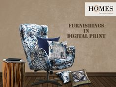 For those who believe in simplicity & beauty, multi colored Designer Digital prints are here to make your room decor more lively & vibrant, a great choice for your home! Explore more collection @ www.homesfurnishings.com #HomeInterior #HomeDecor #Furnishings #Homes #DigitalPrint #Cushions #Upholstery #DesignerHomeFabric