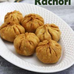 Lilva Kachori Recipe (How to make Fresh Tuvar Dana Kachori) Gujarati Cuisine, Gujarati Recipes, Gujarati Food, Jain Recipes, Indian Appetizers, Appetizer Recipes, Snack Recipes, Savoury Recipes, Savory Snacks