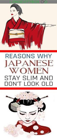 12 Reasons Japanese Women Stay Slim & Don't Look Old