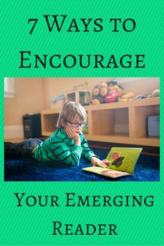 Wonderful literacy tips for encouraging young readers!