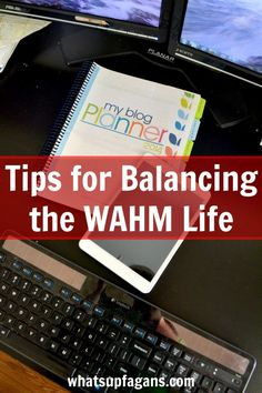 Tips for Balancing the WAHM Life - Schedules are key! #cbias #shop #TabletTrio