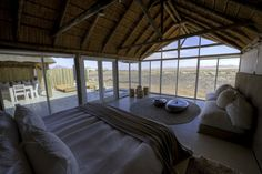The perfect stylish break in the world's oldest desert..... Little Kulala Lodge, Sossusvlei, Namibia