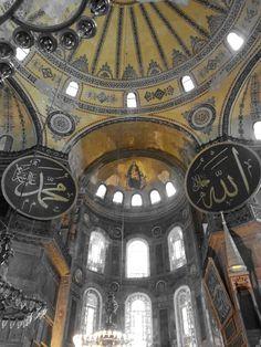 Ayasofya Camii-Hagia Sophia Museum-Photograph by Meral Meri Hagia Sophia, Mosque, Cami, Photograph, Tower, Fotografie, Lathe, Towers, Fotografia