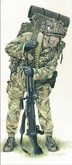 Falklands War 1982 - Paratrooper
