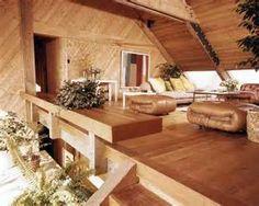 70s Home - Loft above Living Room