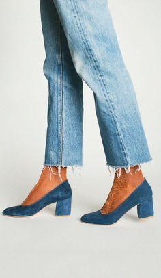 Como combinar granny shoes