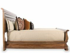 UNIV-071/CALKING - Pennsylvania House Louie P's California King Sleigh Bed   Mathis Brothers Furniture