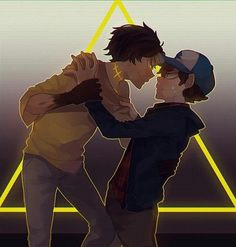 Dipper Pines / Bill Cipher