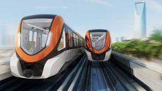 Presentados los vehículos de #Bombardier para el metro de Riad, en Arabia Saudí #railway
