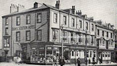 Birks' Station Hotel in Church Street, West Hartlepool - immediately outside the station.