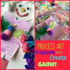 Process Art Game ... how fun!