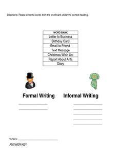 Informal expository essay